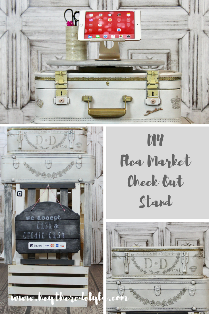 DIY Flea Market Check Out Stand - Hey There Delyla!
